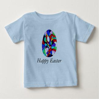 明るいハッピーイースター ベビーTシャツ