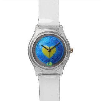 明るいハート 腕時計
