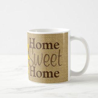 明るいヒマワリの家の菓子の家 コーヒーマグカップ