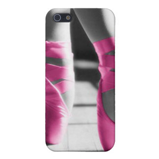明るいピンクのバレエシューズ iPhone SE/5/5sケース