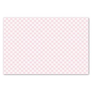 明るいピンクのモダンな点検はパターンギフト用包装紙を平方します 薄葉紙
