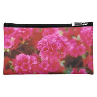 明るいピンクの化粧のバッグ コスメティックバッグ
