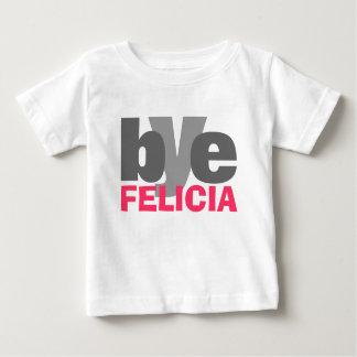 明るいピンクの従属的なフェリシア ベビーTシャツ