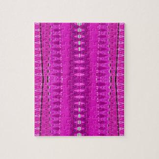 明るいピンクの抽象芸術パターン ジグソーパズル