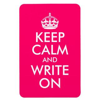 明るいピンクは平静を保ち、書きます マグネット