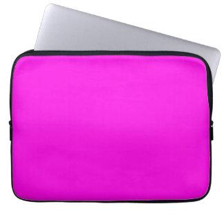 明るいピンク色 ラップトップスリーブ