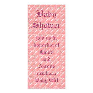 明るいピンク ラックカード