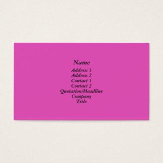 明るいピンク 名刺