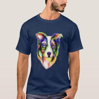 明るいボーダーコリーのTシャツ Tシャツ