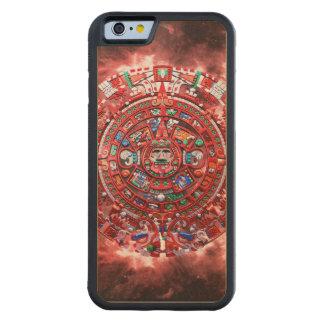 明るいマヤのカレンダー CarvedメープルiPhone 6バンパーケース