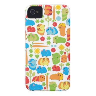 明るいモルモットパッチ Case-Mate iPhone 4 ケース