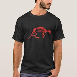 明るいレッド川のカワウソの骨組Tシャツ Tシャツ