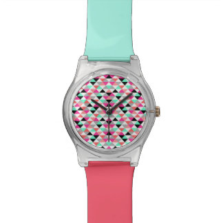 明るい三角形パターンMay28th腕時計 腕時計