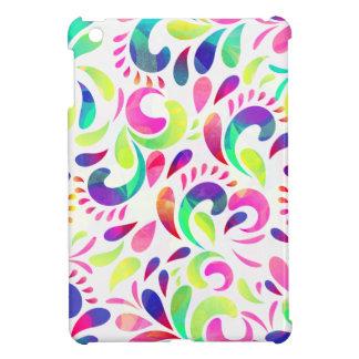 明るい催しのお祝いのカーニバルのカラー・バースト iPad MINIケース