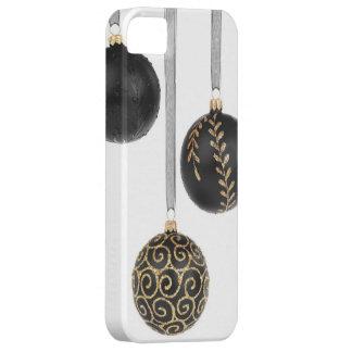 明るい光沢があるクリスマスの球のオーナメントの装飾 iPhone SE/5/5s ケース