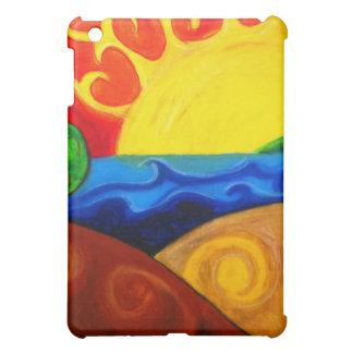 明るい地球 iPad MINIケース