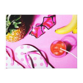 明るい夏の静物画 キャンバスプリント