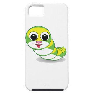明るい幼虫みみず iPhone SE/5/5s ケース