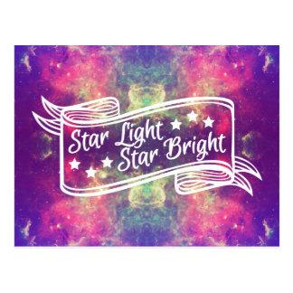 明るい星の軽い星 ポストカード