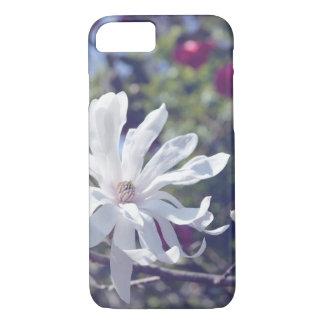 明るい星マグノリアの開花の電話箱 iPhone 8/7ケース
