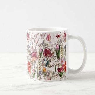 明るい春分野。 ロマンチックなパターン コーヒーマグカップ