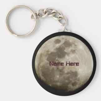 明るい月 キーホルダー