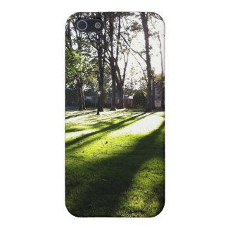 明るい森林 iPhone 5 カバー
