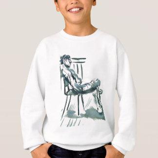 明るい椅子 スウェットシャツ
