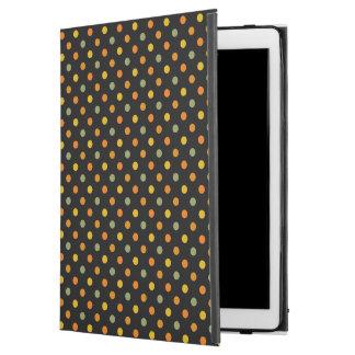"""明るい水玉模様パターン iPad PRO 12.9"""" ケース"""
