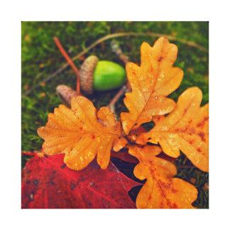 明るい秋 キャンバスプリント