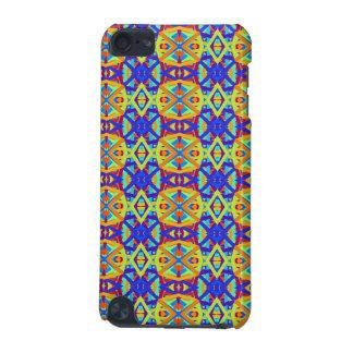 明るい色のおもしろいパターン iPod TOUCH 5G ケース