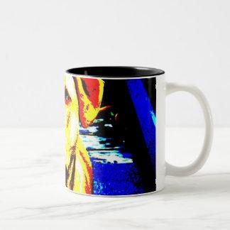 明るい色のソエ ツートーンマグカップ