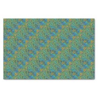 明るい色の孔雀の羽 薄葉紙