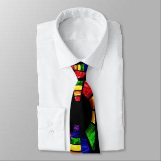 明るい色の汚れのガラス一見 オリジナルネクタイ