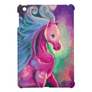 明るい色の馬 iPad MINIカバー