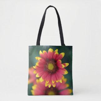 明るい花のトートバック トートバッグ