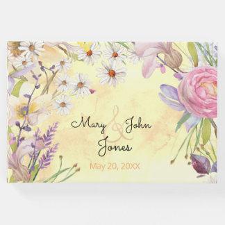 明るい花の束 ゲストブック