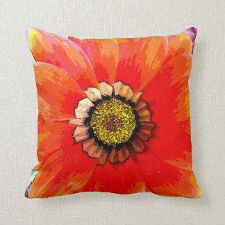 明るい花の枕 クッション