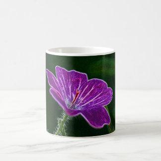 明るい花びらのマグ コーヒーマグカップ
