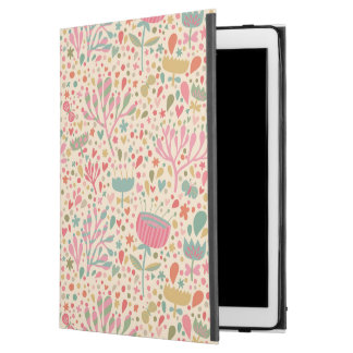 """明るい花パターン iPad PRO 12.9"""" ケース"""