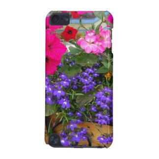 明るい花柄Iの電話箱 iPod TOUCH 5G ケース