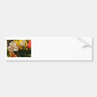 明るい花 バンパーステッカー