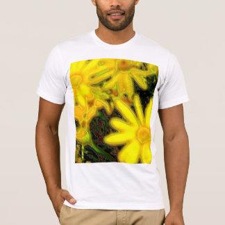 明るい花 Tシャツ
