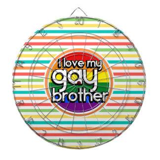 明るい虹のストライプ; 陽気な兄弟 ダーツボード