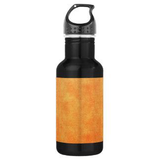 明るい蜜柑のオレンジ ウォーターボトル