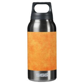 明るい蜜柑のオレンジ 断熱ウォーターボトル