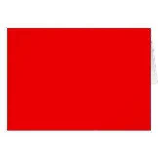 明るい赤DIYのカスタムな背景のテンプレート カード