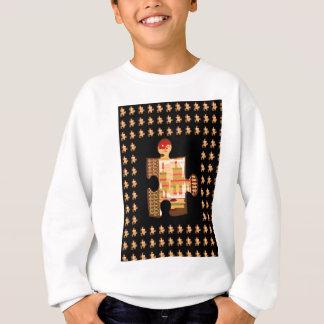 明るい金輝きのクイズの芸術-エレガントなギフトすべて スウェットシャツ