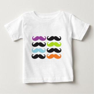 明るい髭 ベビーTシャツ