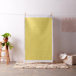 明るい黄色のピースサイン ファブリック